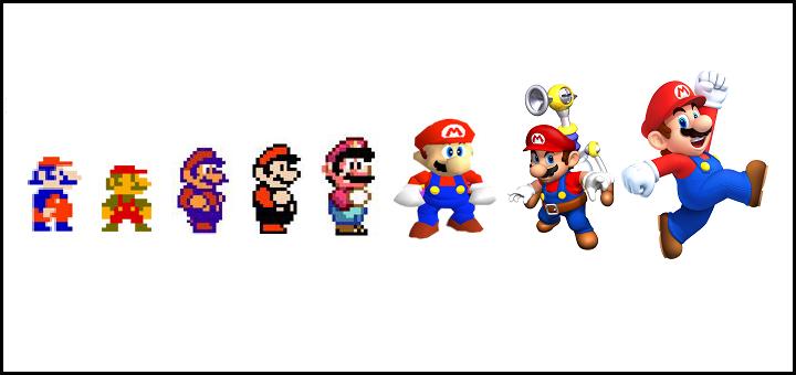 Frise Mario